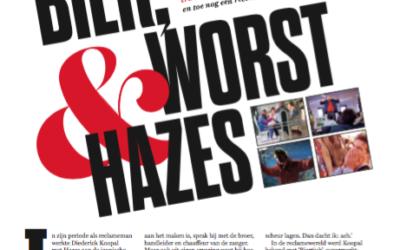 Bier, worst & Hazes