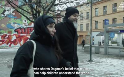 Dagmar Slagmolen neemt haar muziektheater voor kinderen mee naar Oslo