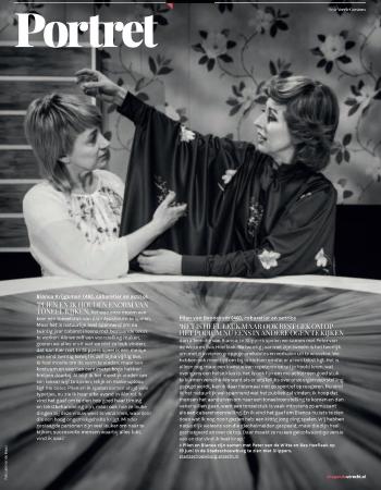 De jury van de Johan Kaartprijs vond Plien en Bianca de beste – wat vinden zij eigenlijk van elkaar?